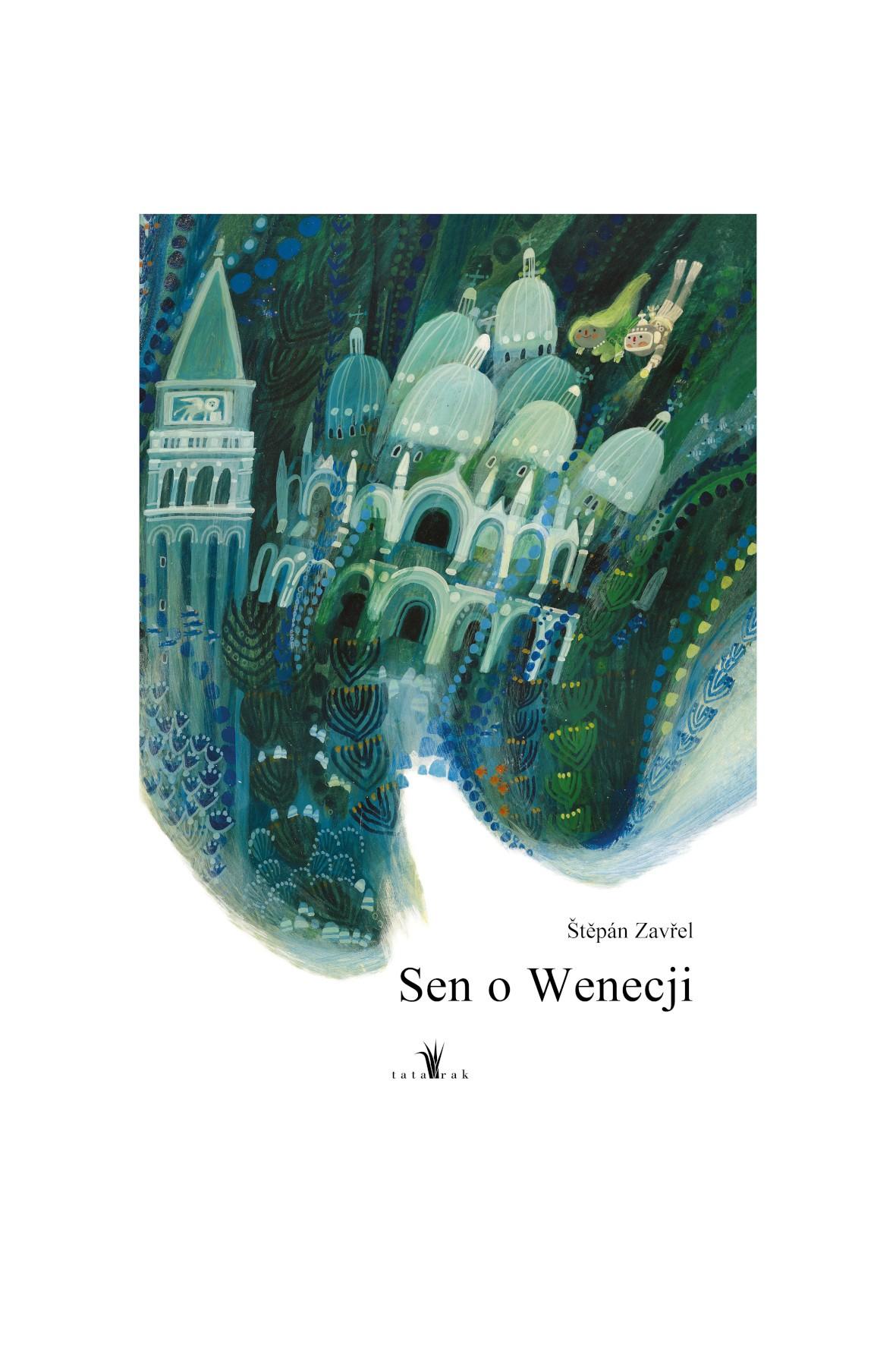 Sen o Wenecji - książka dla dzieci