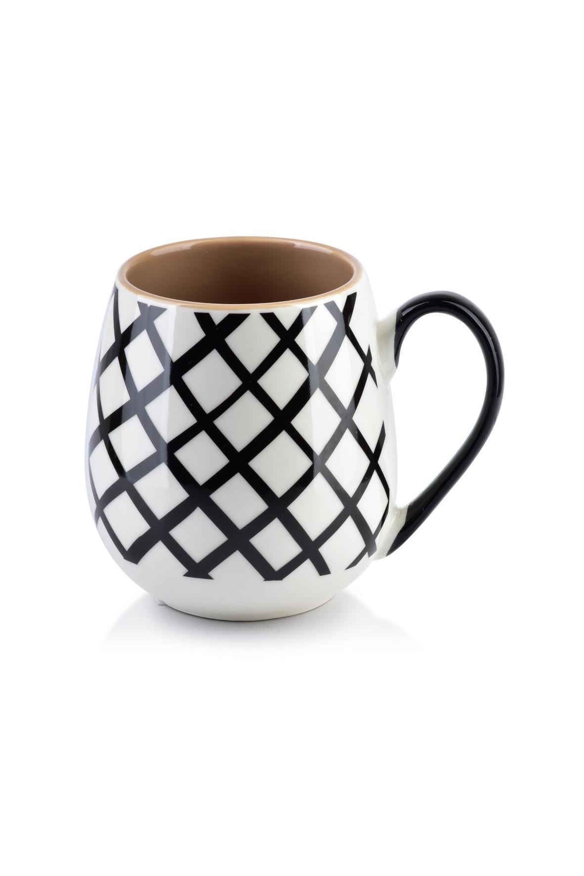 Kubek porcelanowy GEO 400ml