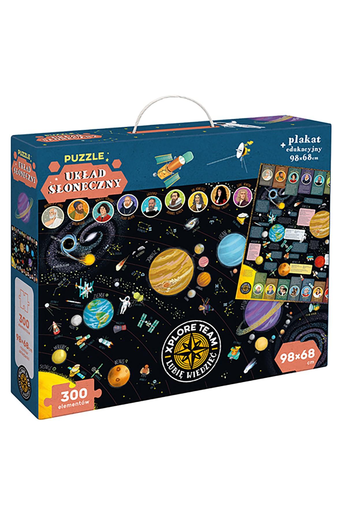 """Puzzle """"Układ słoneczny"""" 300el"""