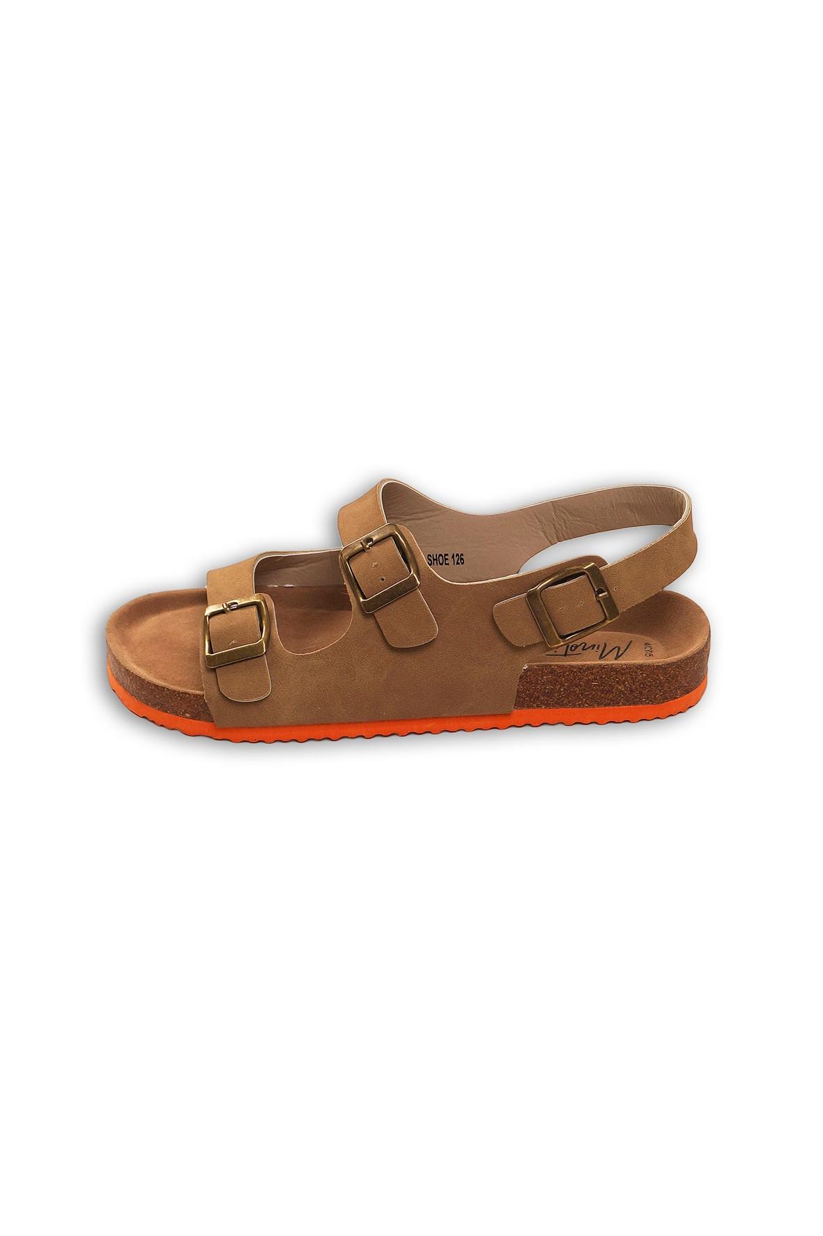 Sandały dla chłopca- brązowe