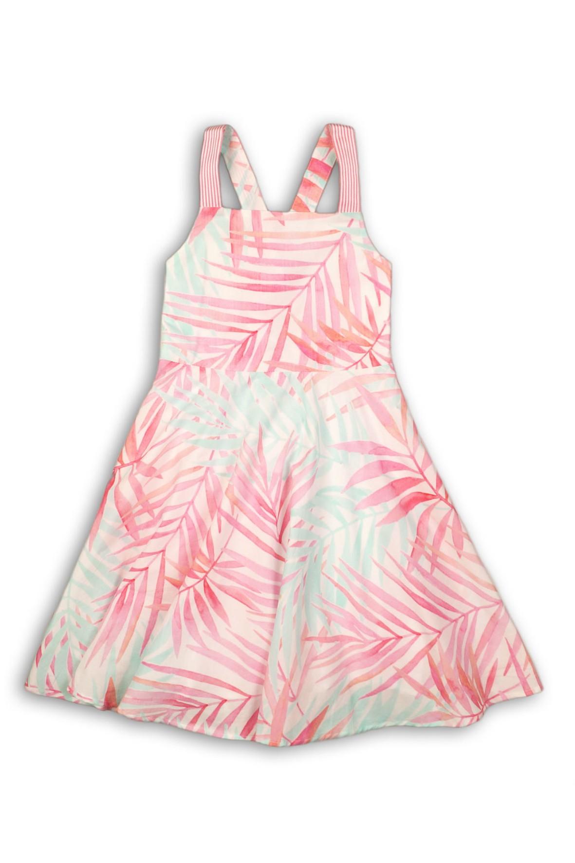 Sukienka dziewczęca na lato-kolorowe liście