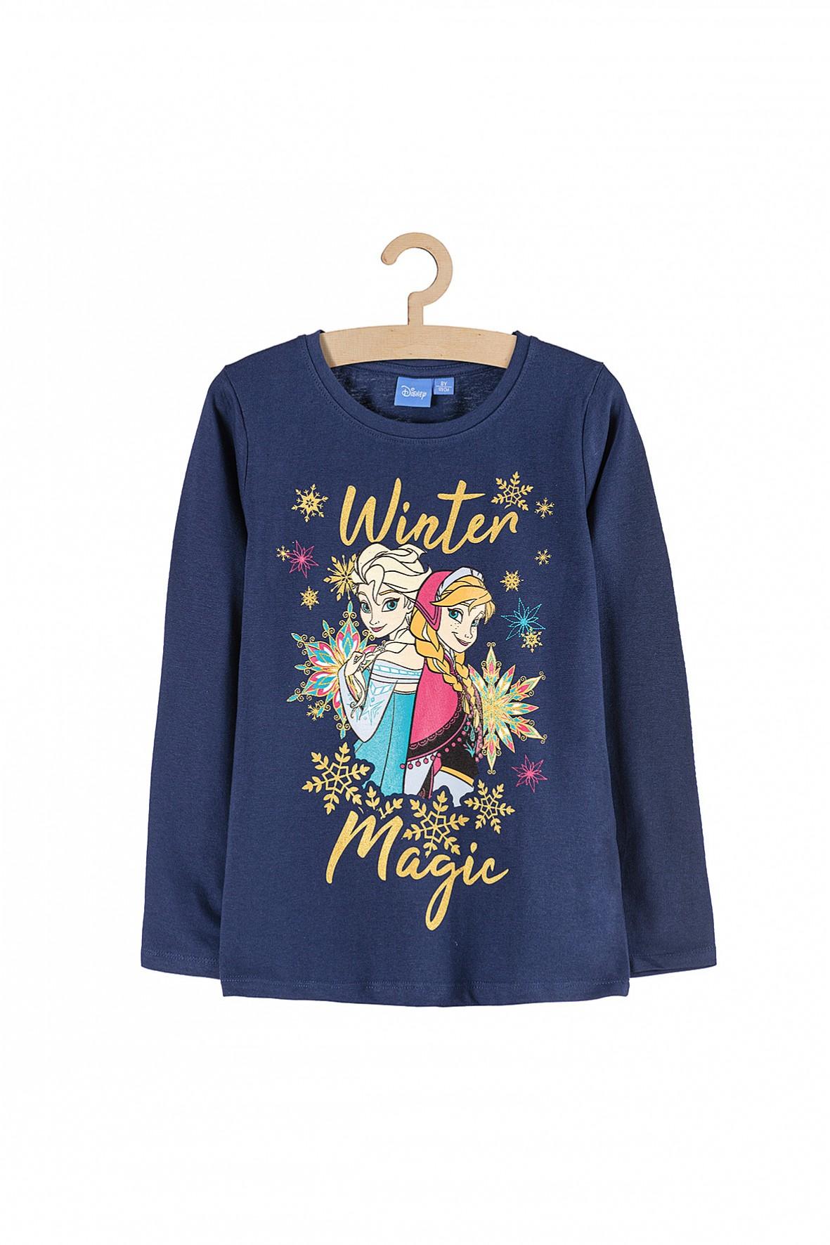 Bluzka dziewczęca Kraina Lodu Winter Magic