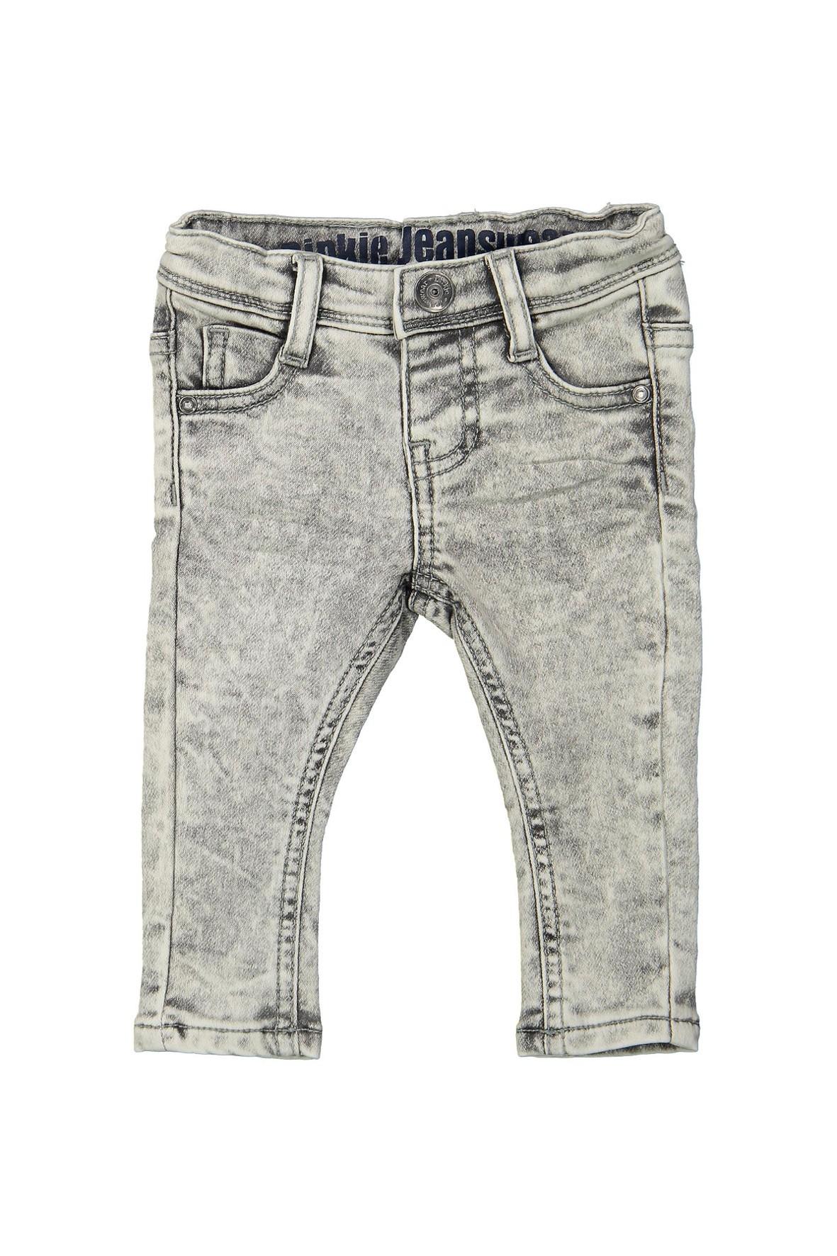 Spodnie niemowlęce z miękkiego jeansu