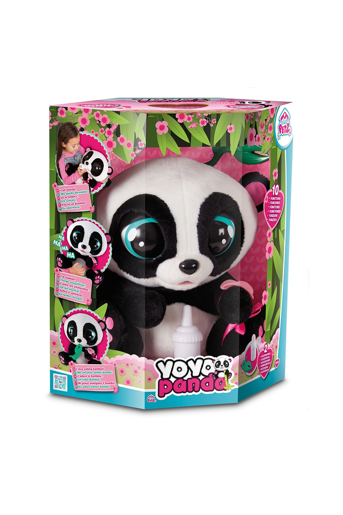 YoYo Panda zabawka interaktywna  3Y33HH
