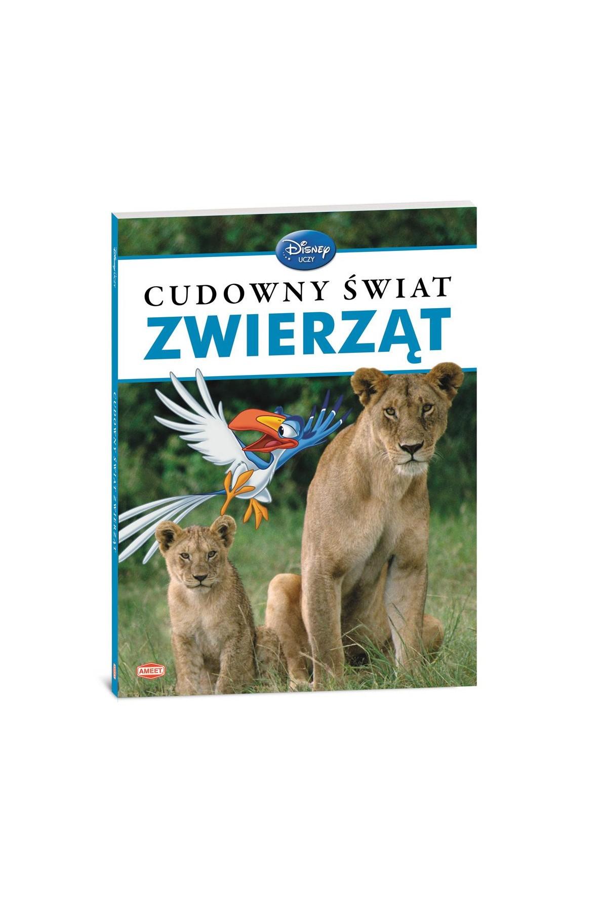 """Książka dla dzieci """"Cudowny świat zwierząt"""" Disney"""