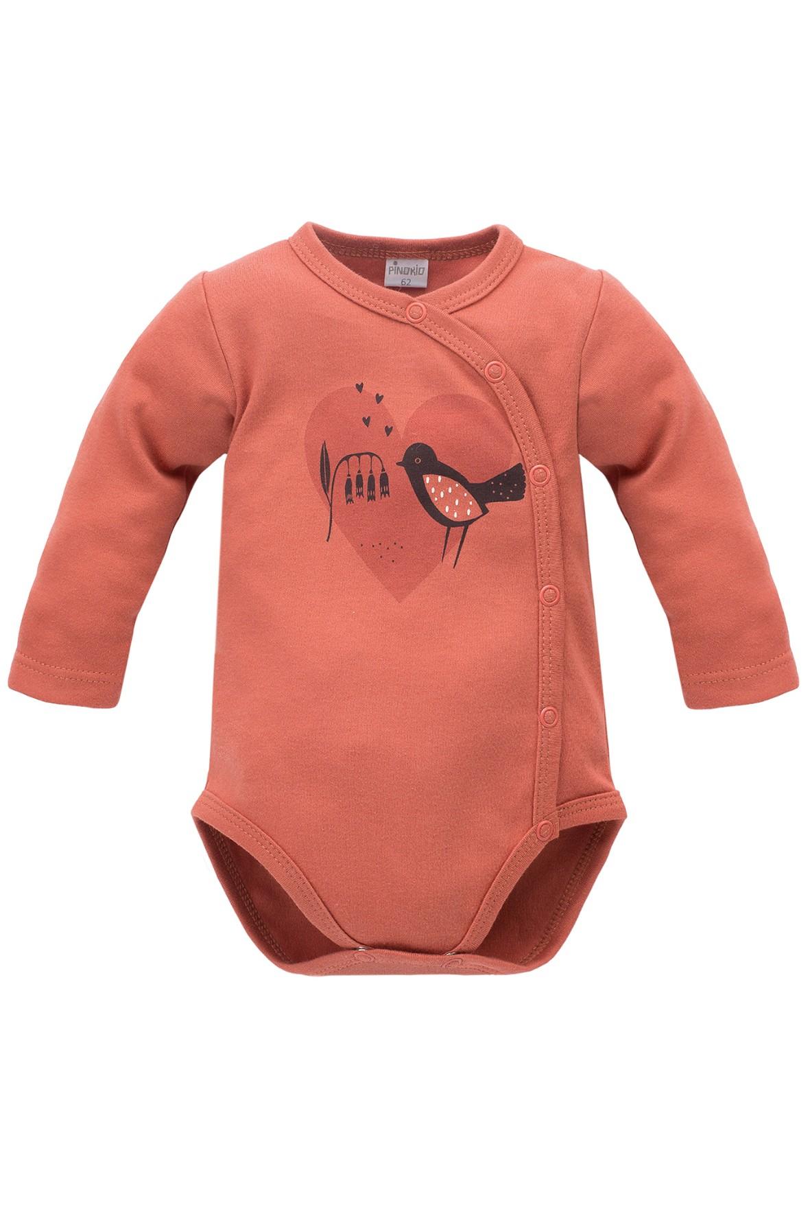 Body niemowlęce kopertowe Little Bird