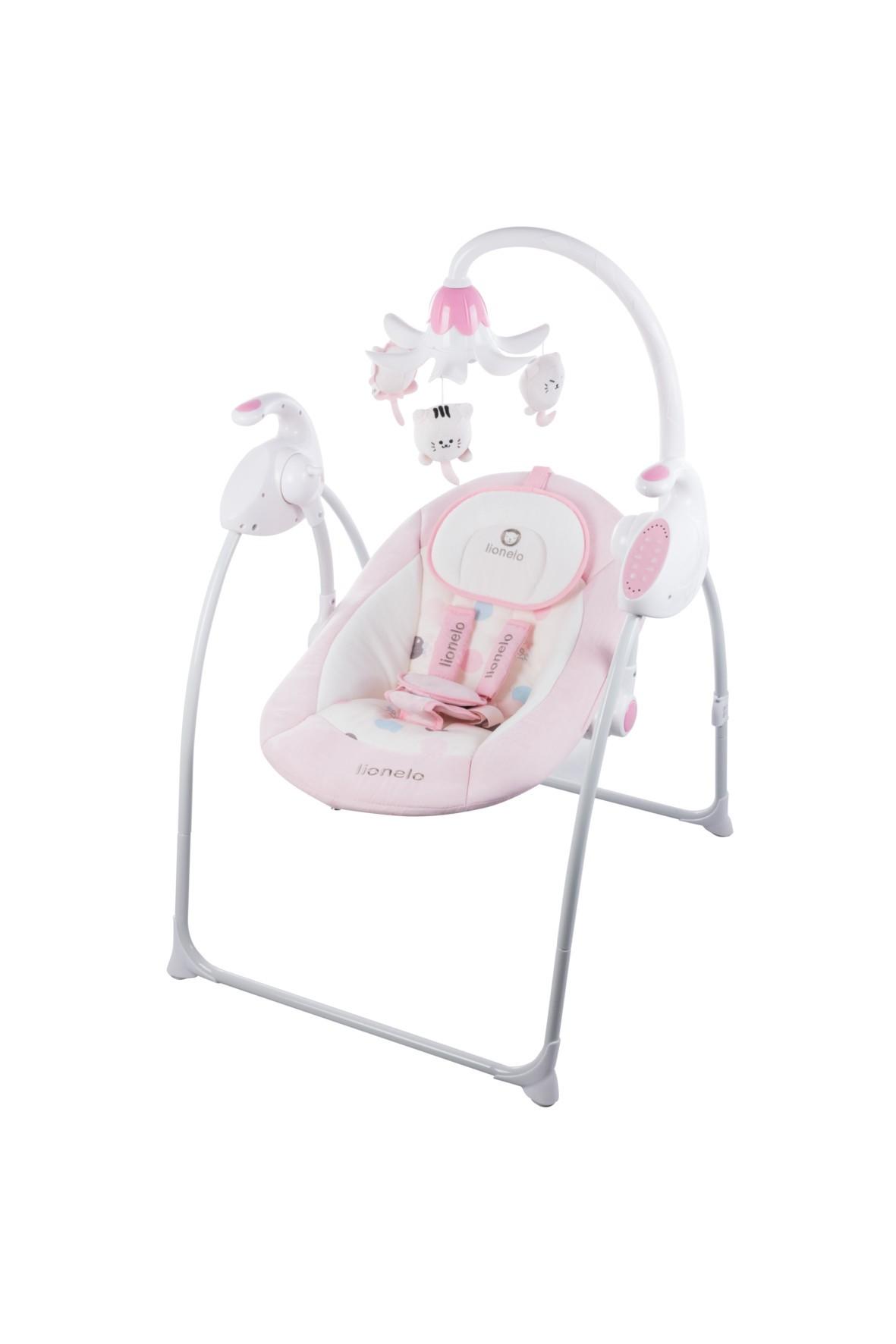 Bujaczek niemowlęcy Lionelo- różowy