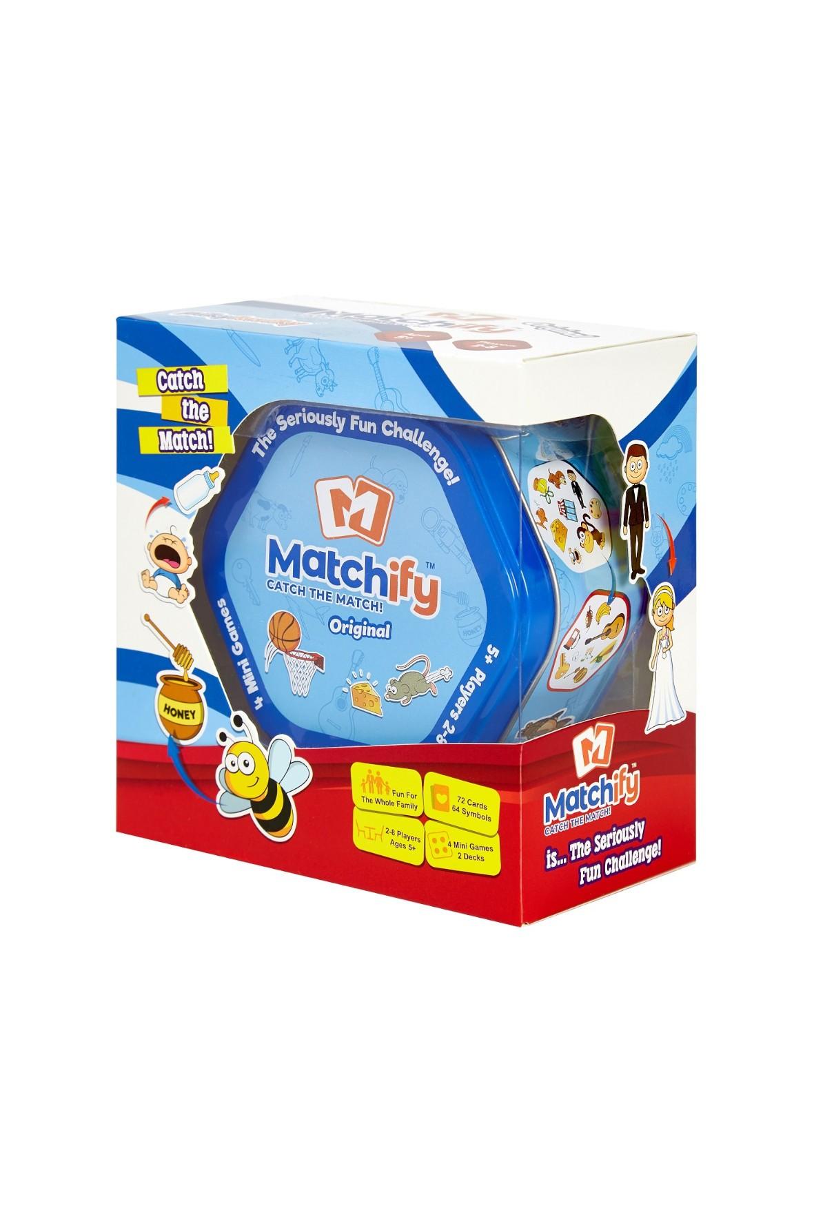 Matchify Original Gra edukacyjna dla całej rodziny wiek 5+