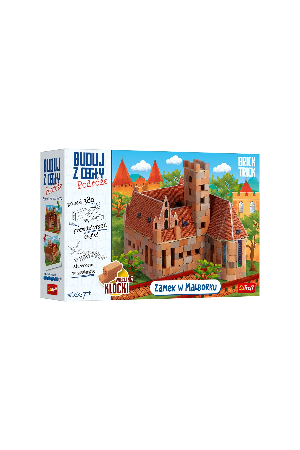 Brick Trick Podróże Zamek Malbork- klocki konstrukcyjne 7+