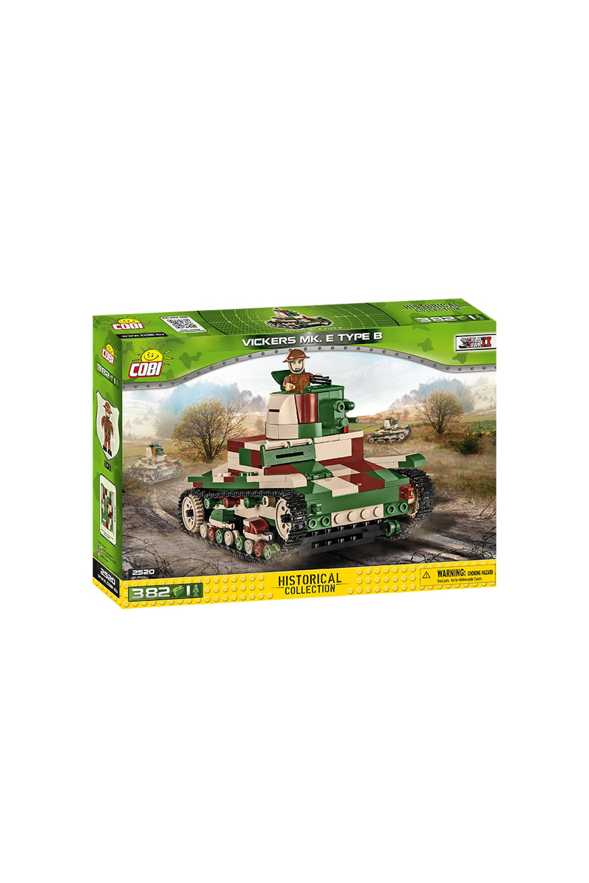 Klocki Cobi Small Army Vickers MK.E Type B 382el