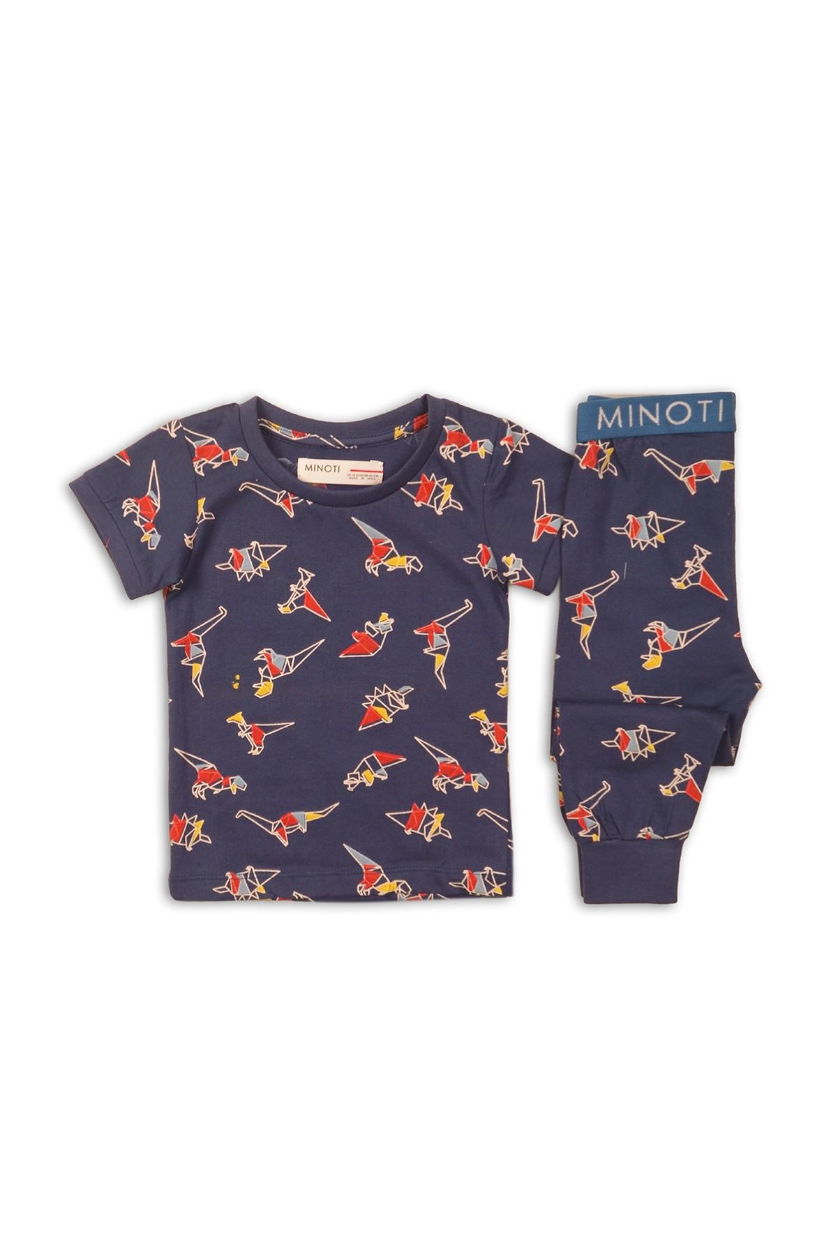 Granatowa piżama dla chłopca Dino