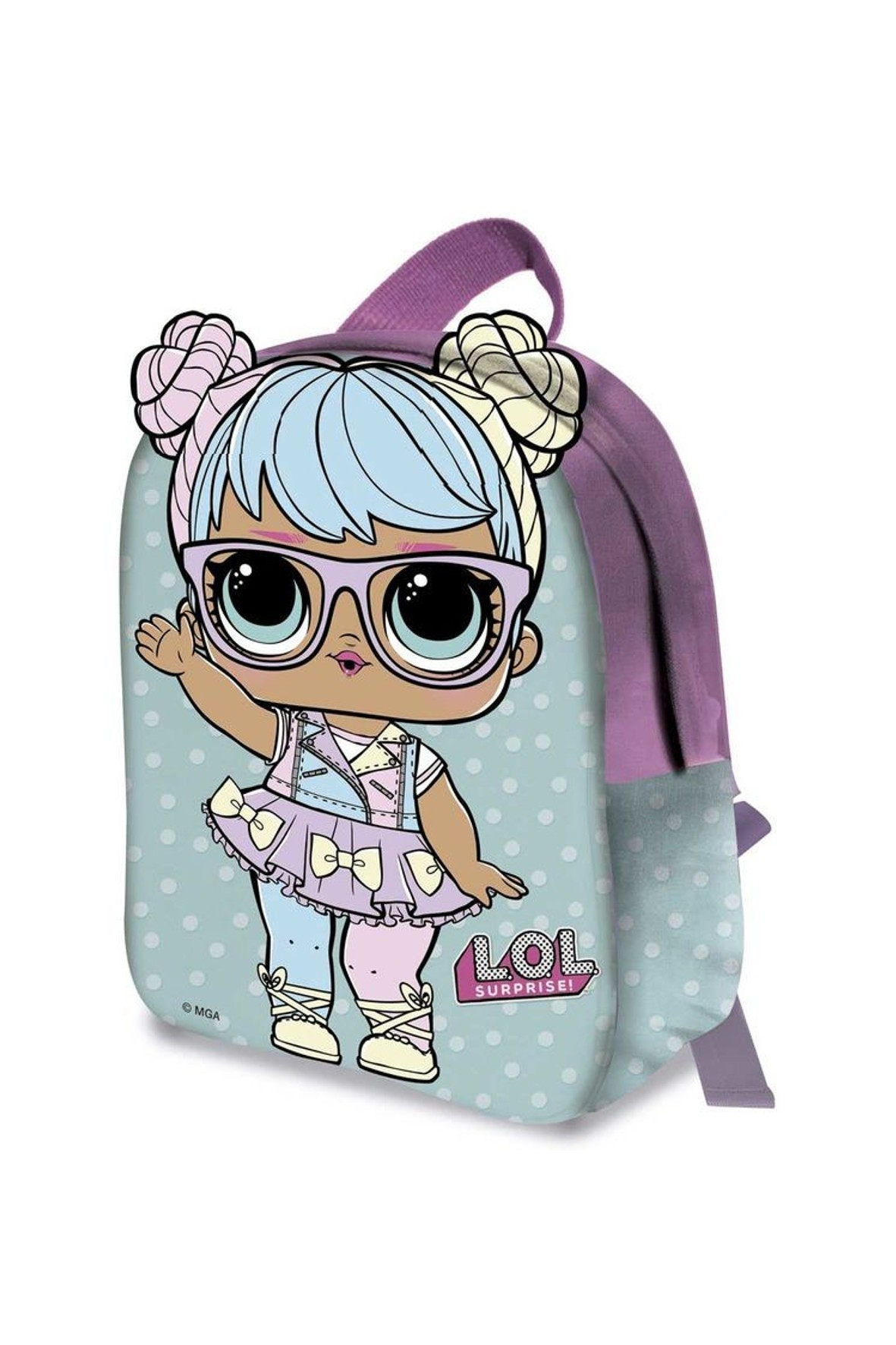 Plecak LOL Surprise niebieski
