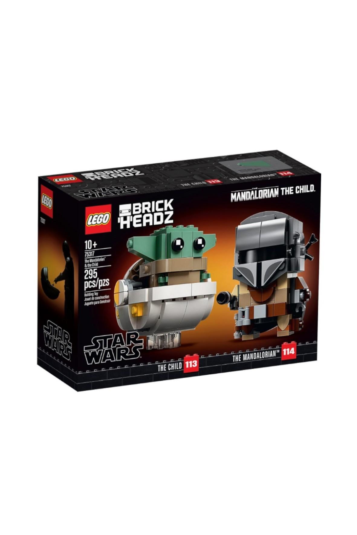LEGO® BrickHeadz™ Mandalorianin i Dziecko295 75317 - 295 elementów wiek 10+