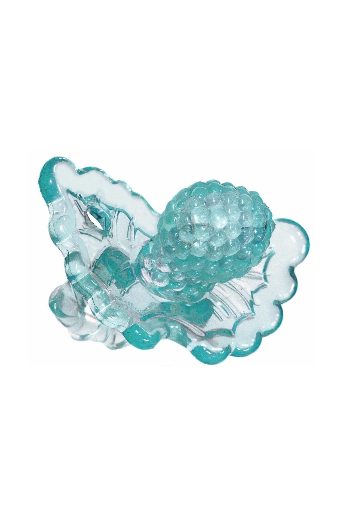Gryzaczek silikonowy błękitny RazBaby