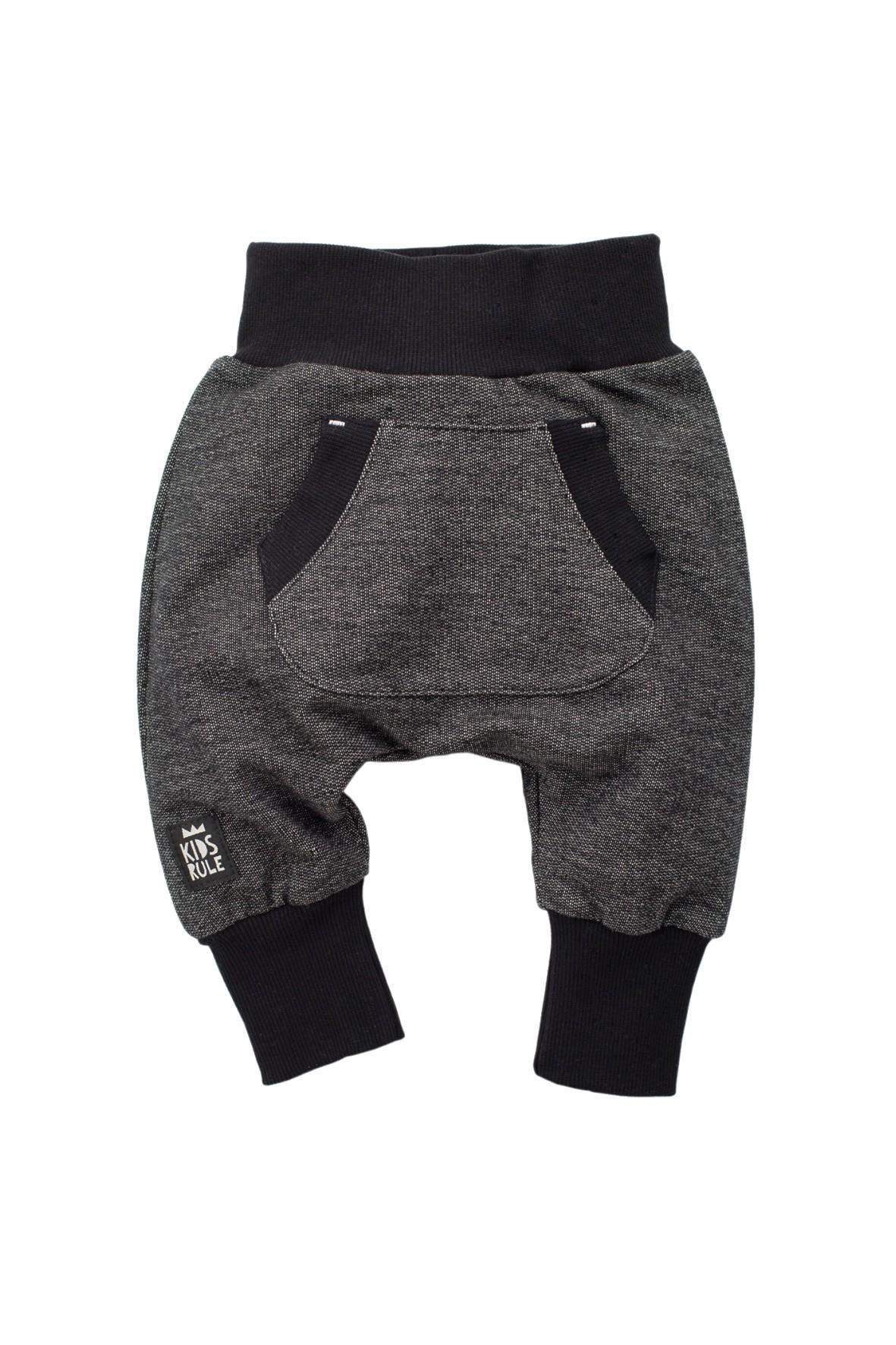 Spodnie niemowlęce dzianinowe