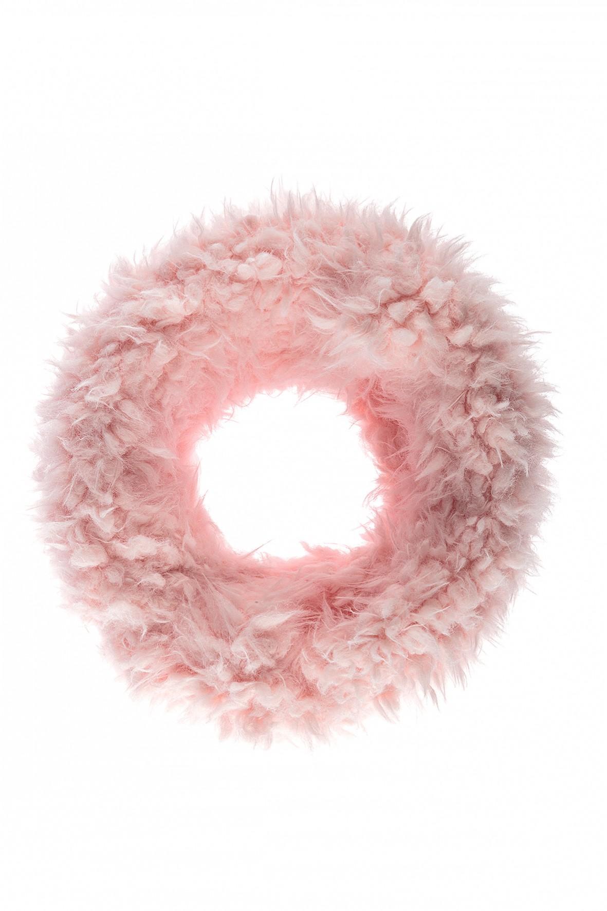 Komin dziewczęcy gruby- różowy