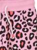 Komplet dziewczęcy w panterkę- bluzka+ spodnie dresowe
