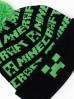 Czapka chłopięca z nadrukiem z pomponem- Minecraft