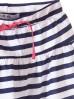 Bawełniana spódnica dla dziewczynki w biało branatowe paski