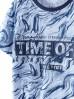 Bawełniany t-shirt chłopięcy Time off