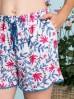 Lekka kobieca piżama - top i szorty