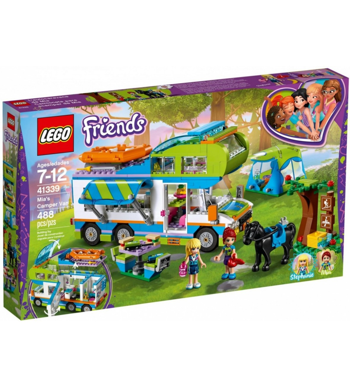 Klocki Lego Friends Samochód kempingowy