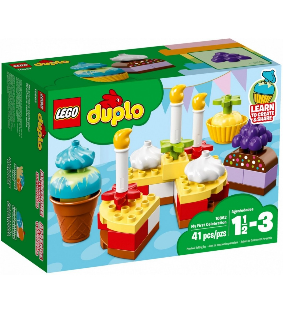 Klocki Lego DUPLO Moje pierwsze przyjęcie
