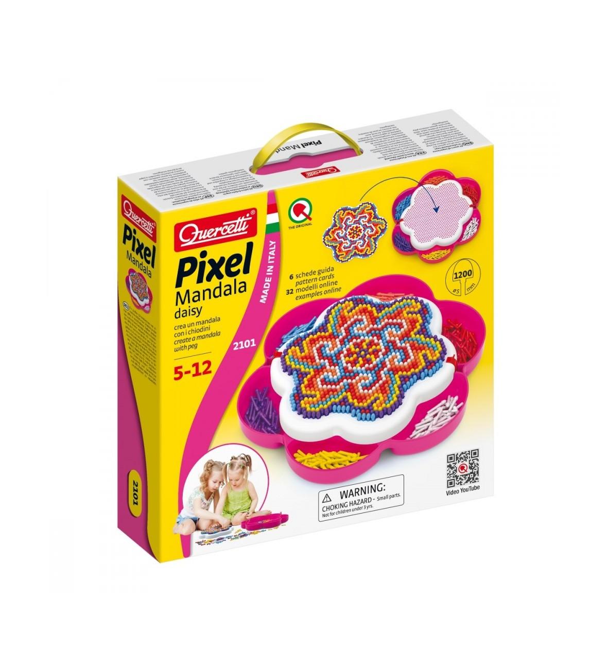 Mozaika Pixel Mandala Daisy 1200 elementów