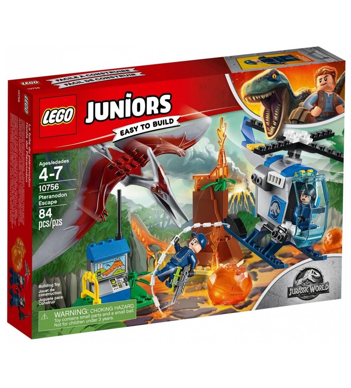 Klocki Lego Juniors Ucieczka przed pteranodonem