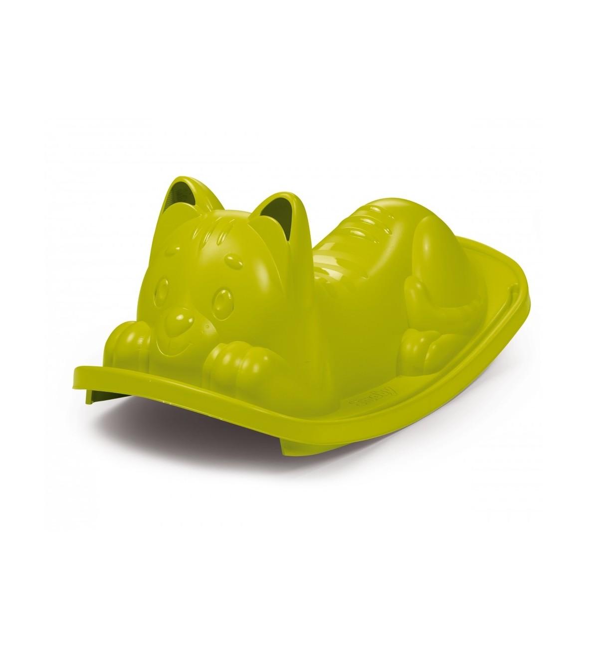 Huśtawka-bujak Kotek, zielony