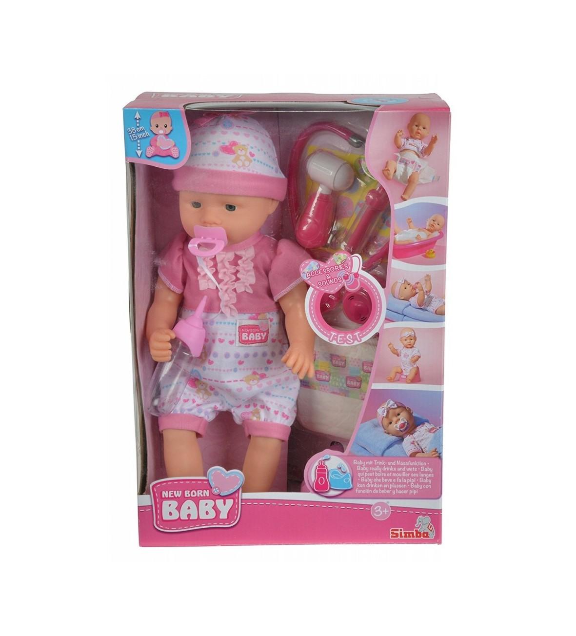 New Baby Born, Lalka z akcesoriami Doktor