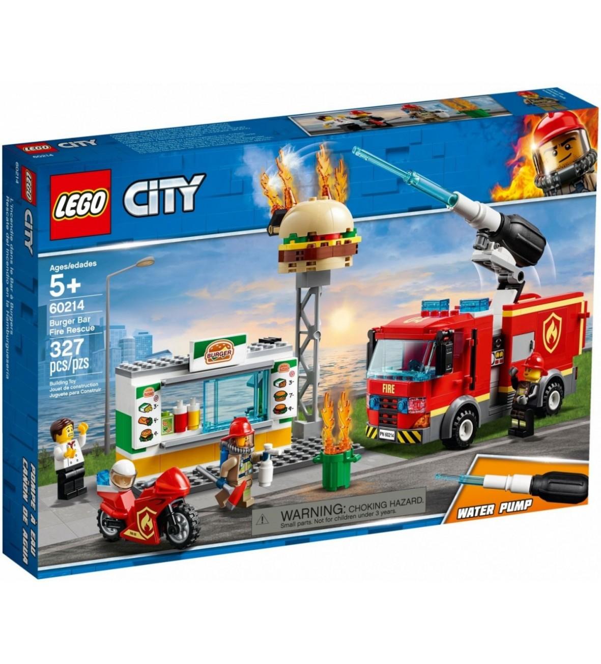 Klocki City Na ratunek w płonącym barze 327el