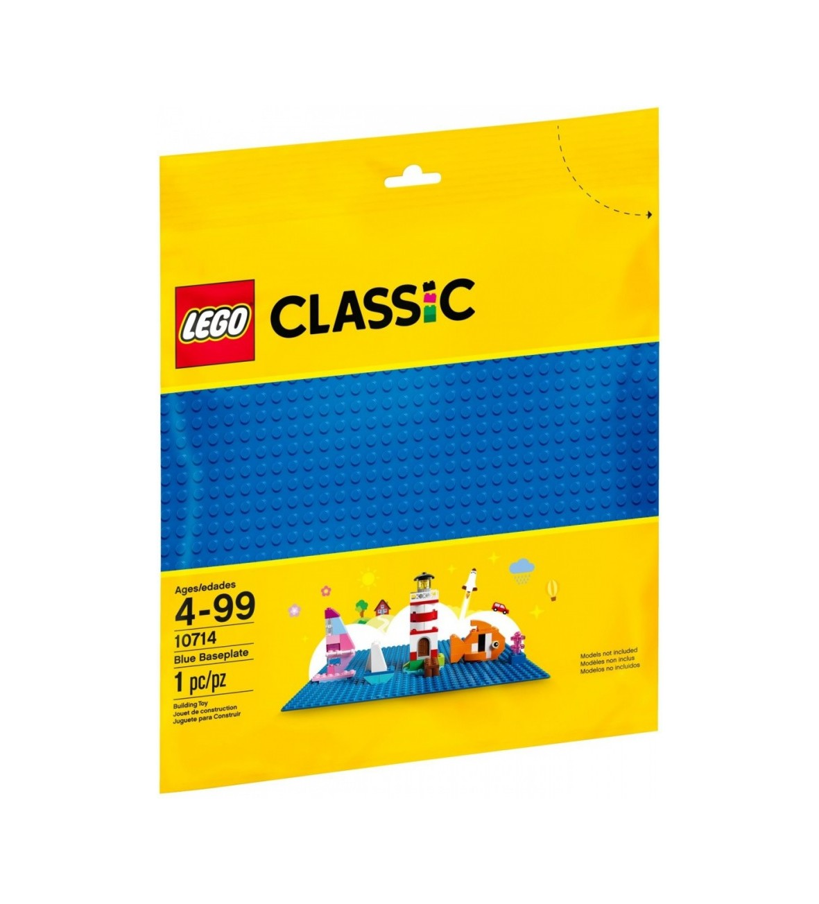 Kloci Lego Classic Niebieska płytka konstrukcyjna