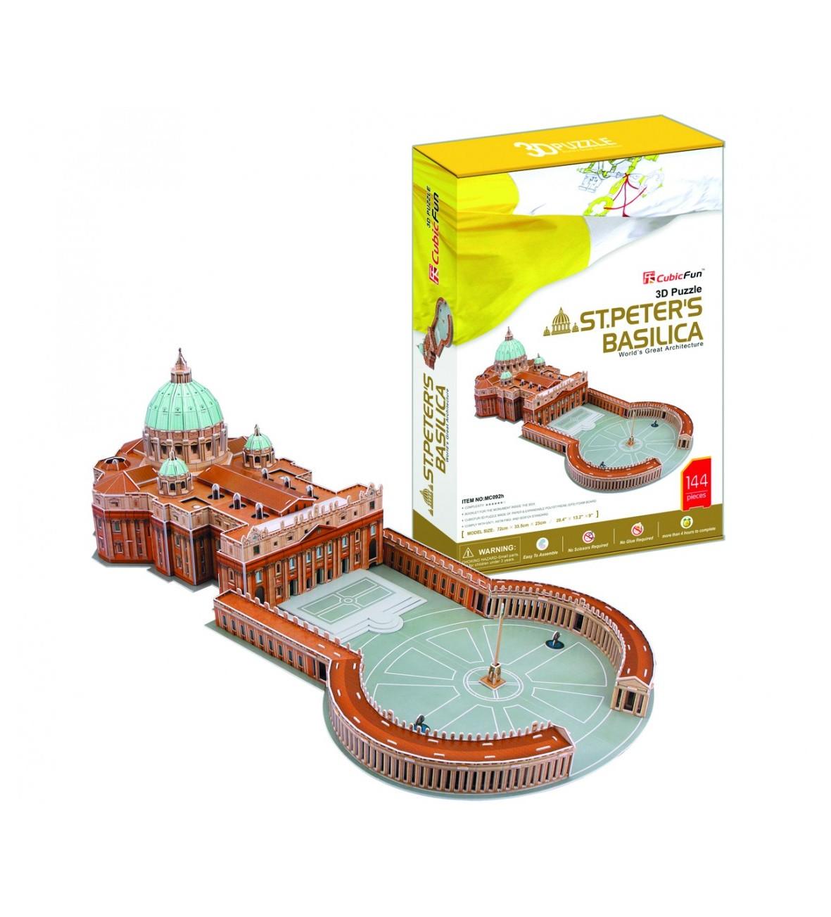 Puzzle 3D Basillica St. Peters duży