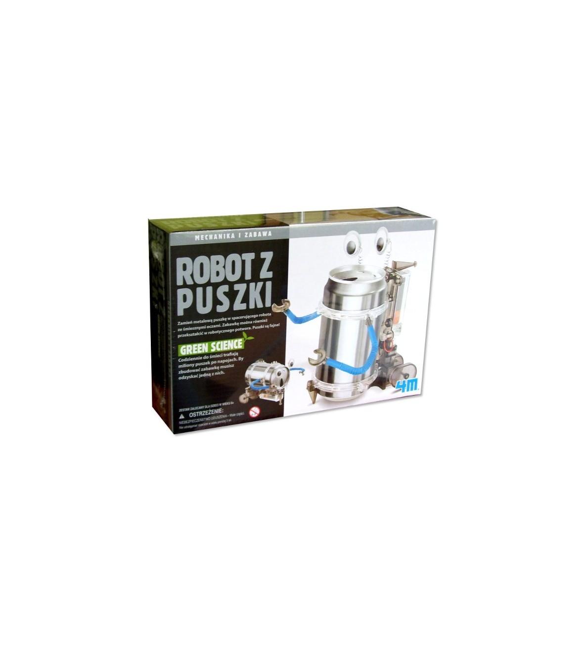 4M Robot z Puszki