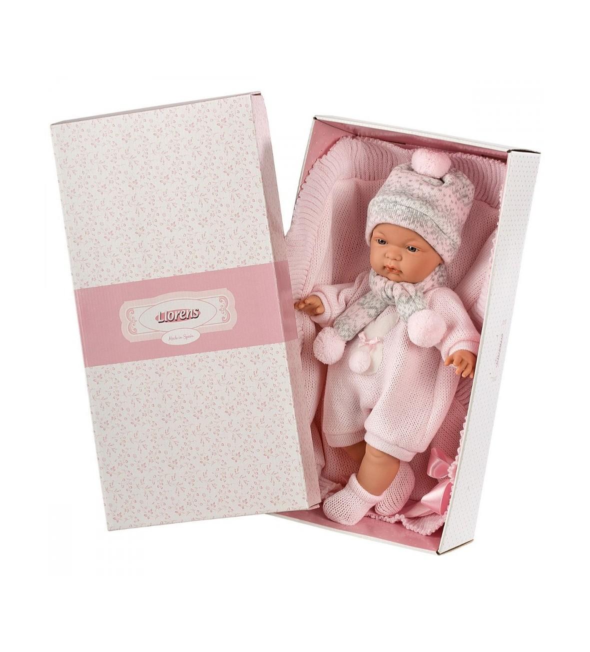 Lalka Joelle płacząca z ręcznikiem 38 cm