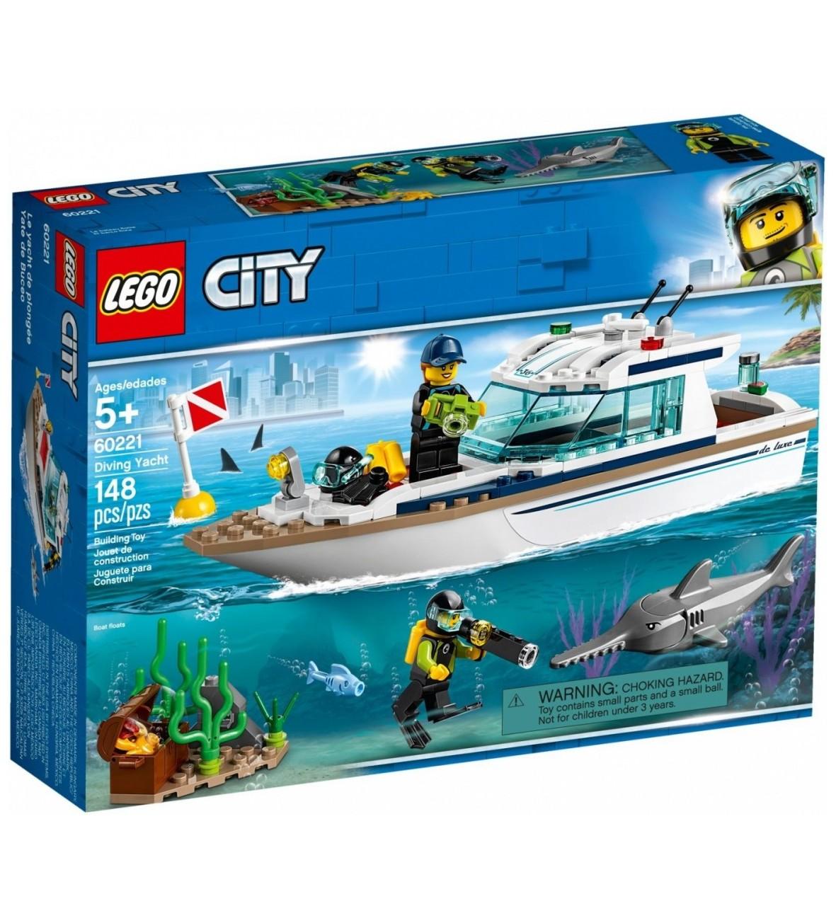 Klocki City Jacht 148el