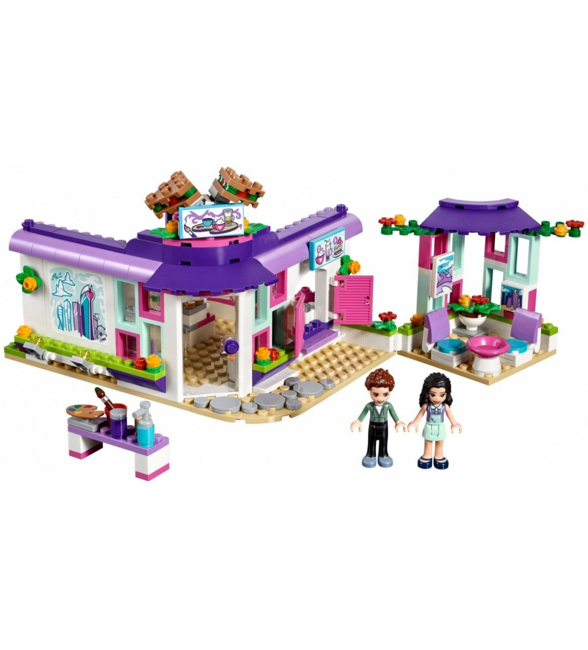 Klocki Lego Friends Artystyczna Kawiarnia Emmy Sklep 51015