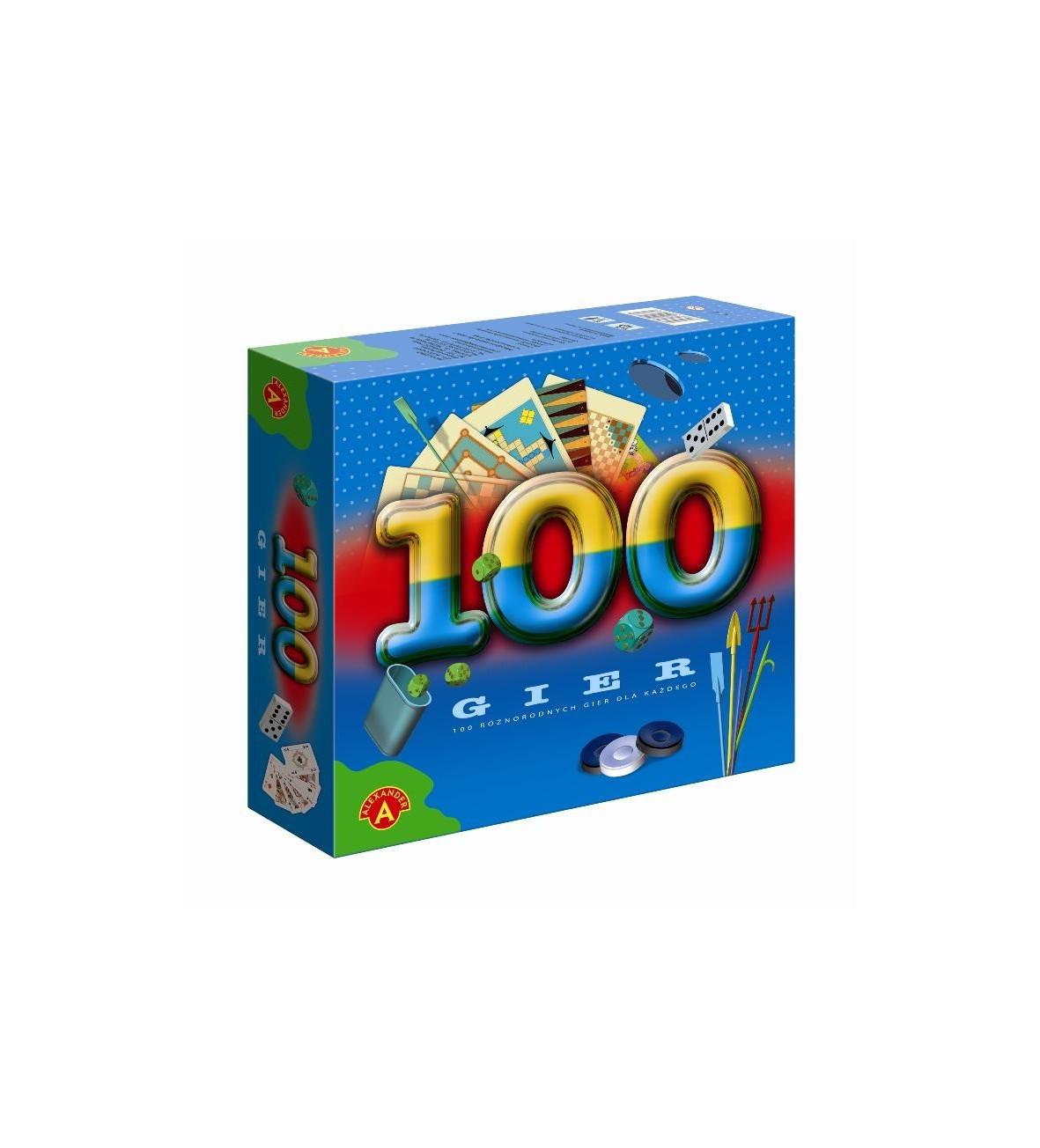 Alexander gra zestaw 100 gier