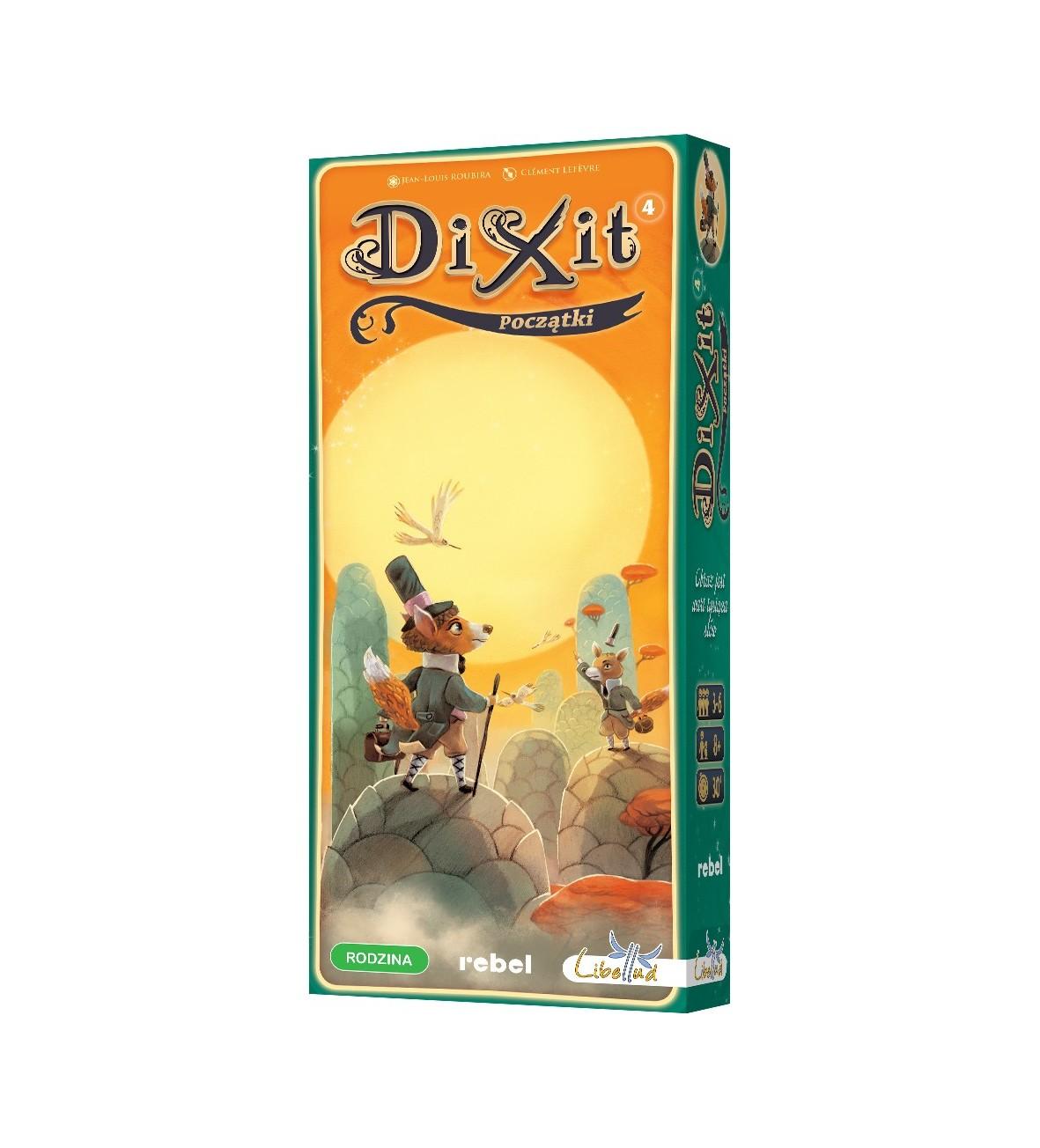 Gra Dixit 4, Początki