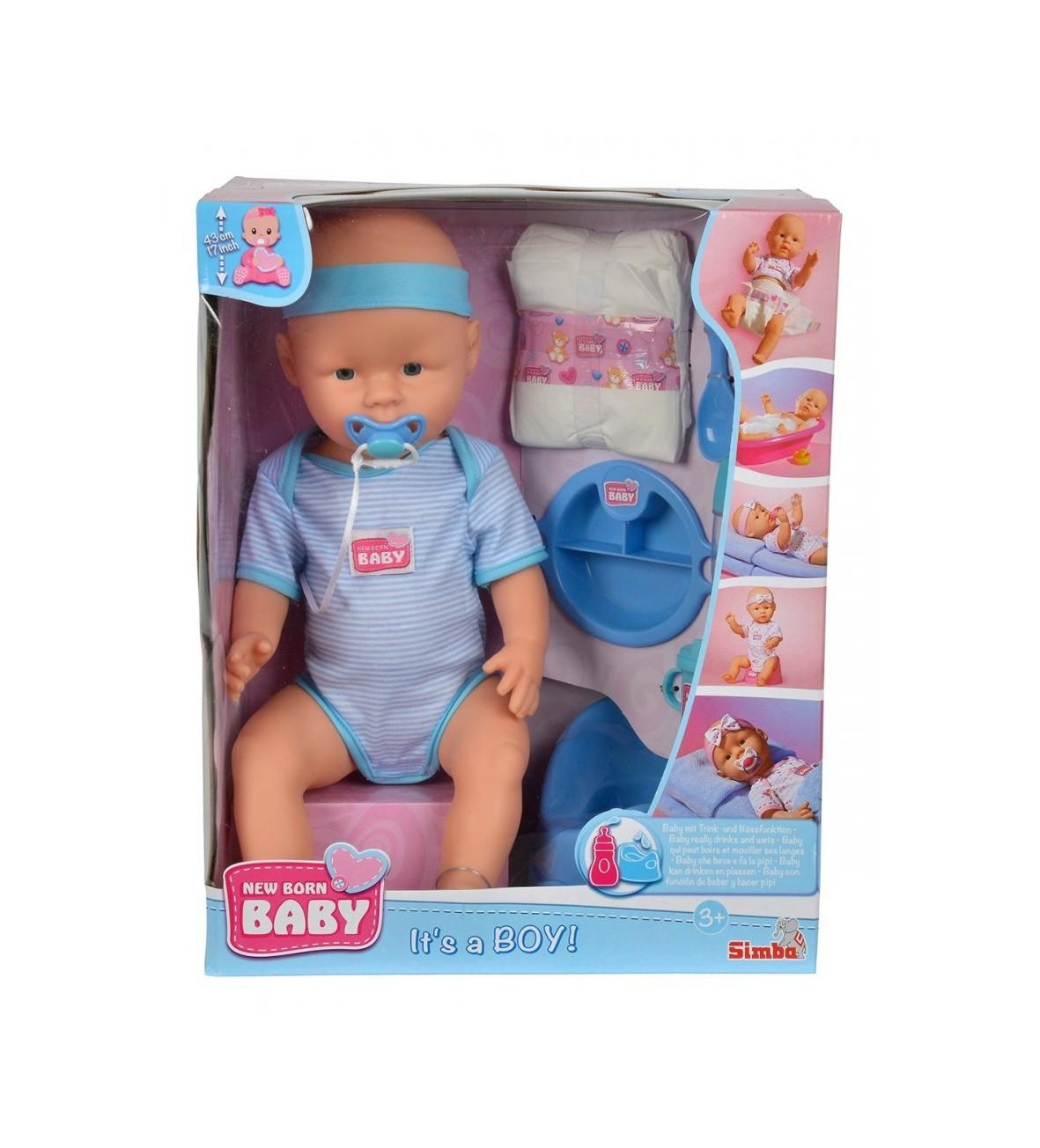 New Baby Born, Chłopiec, 43 cm
