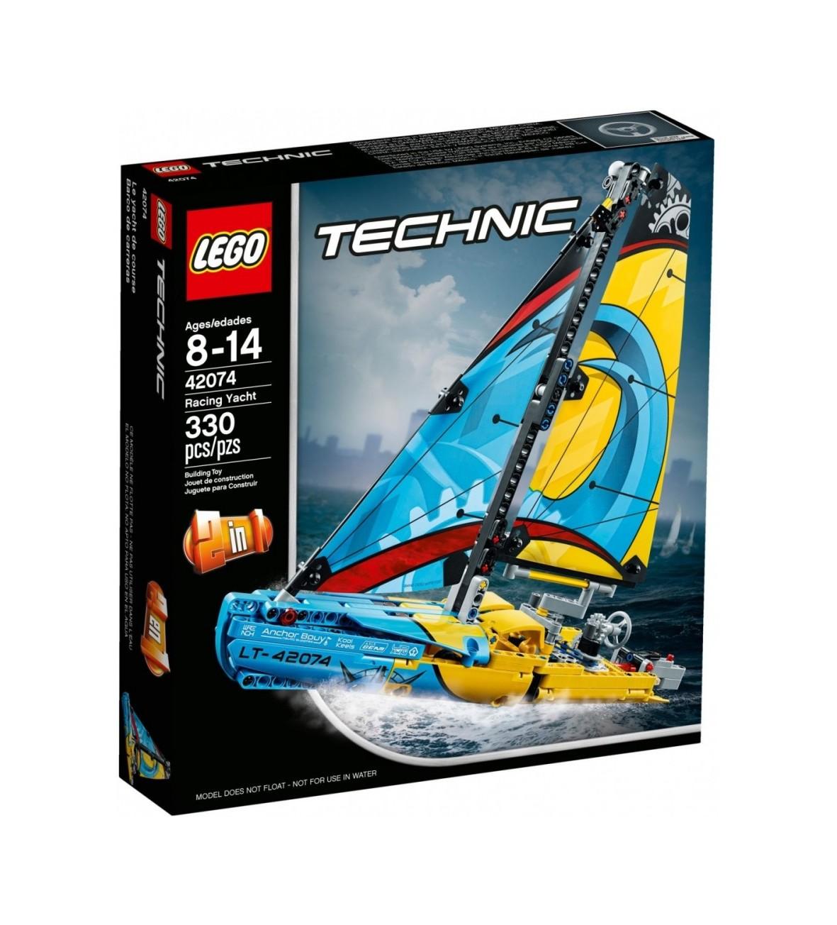 Klocki Lego Technic Jacht wyścigowy