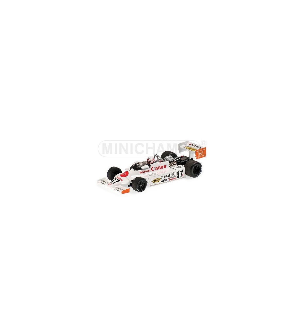 March Honda F2 812 #37 Satoru Nakajim