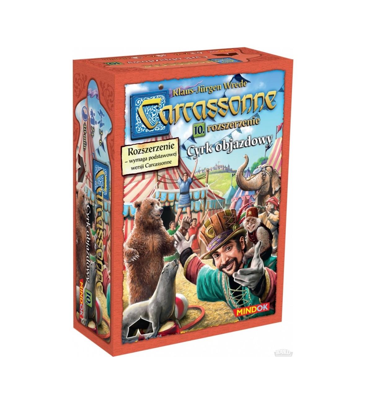 Bard Gra Carcassonne Cyrk Objazdowy