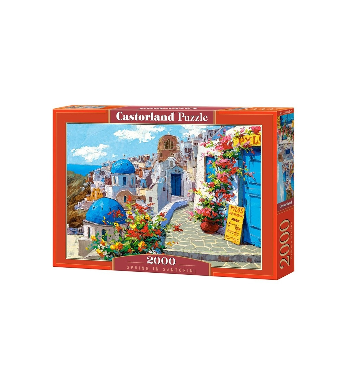 Puzzle 2000 EL. Wiosna w Santorini