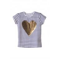 T-shirt dziewczęcy 3I3309
