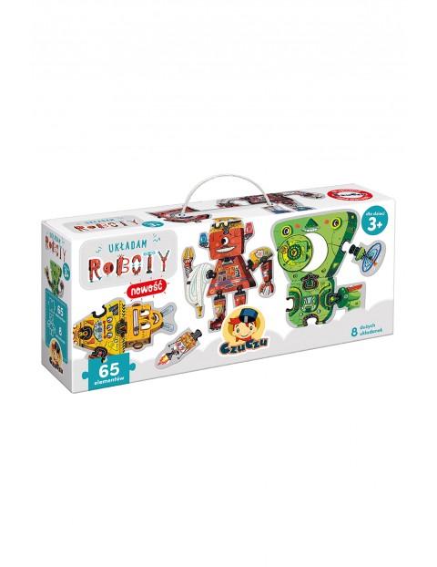 """Puzzle """"Układam Roboty"""" Czuczu 3+"""