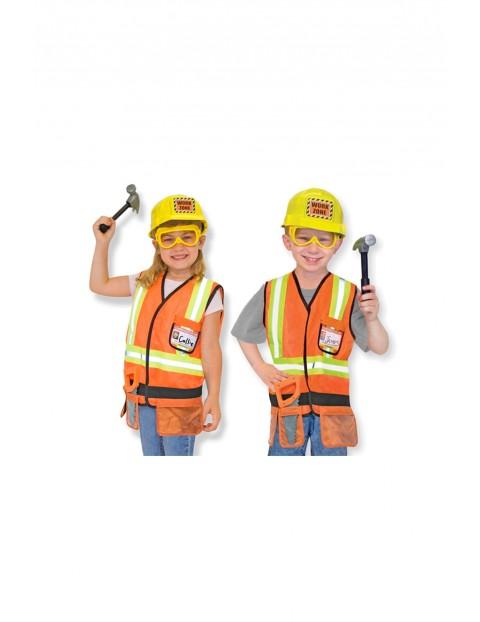 Strój Budowniczy+akcesoria 3-6 lat1Y34C9