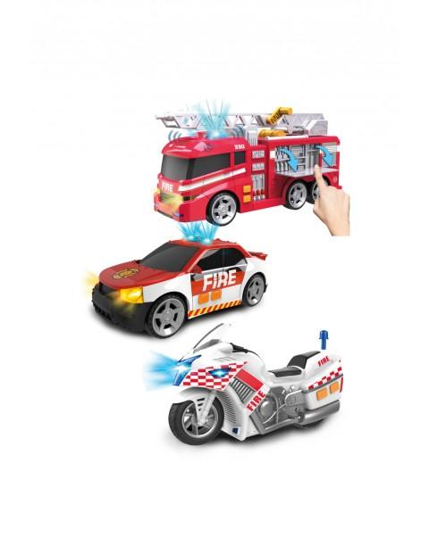 Flota pojazdów strażackich 3pak