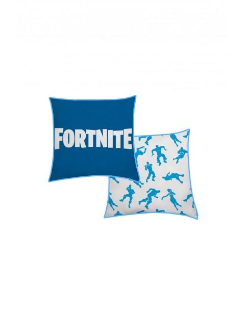 Poduszka Fortnite 40x40cm-niebieska